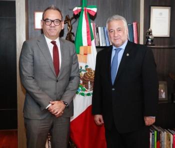 Torruco Marqués, se reúne con Embajador de Turquía en México