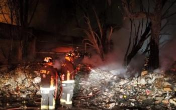 Controlan incendio en planta recicladora de la Gustavo A. Madero