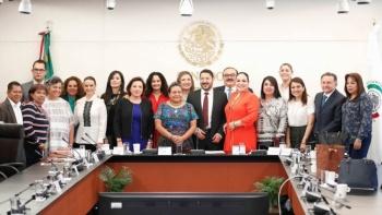 Rigoberta Menchú y Senado, refrendan compromiso con pueblos originarios