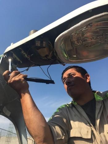 Revelan cifras sobre cambio de luminarias en Iztacalco