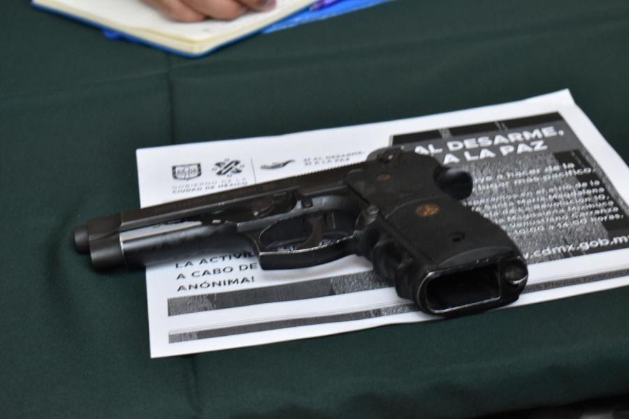 Ciudadanos conformes por dinero recibido en canje de 'Sí al desarme, sí a la paz'