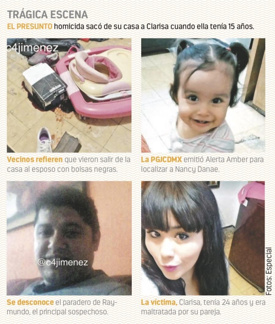 Asesina a su pareja y secuestra a su hija