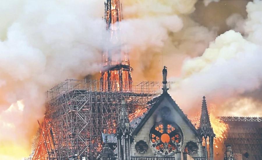 Descubren más fallos en Notre Dame