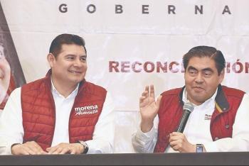 Aseguran morenistas que van en unidad en Puebla