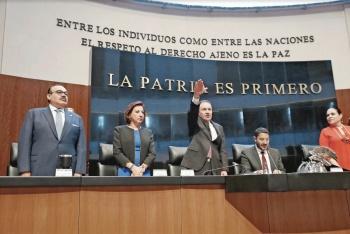 Promete Durazo mejorar seguridad en tres años