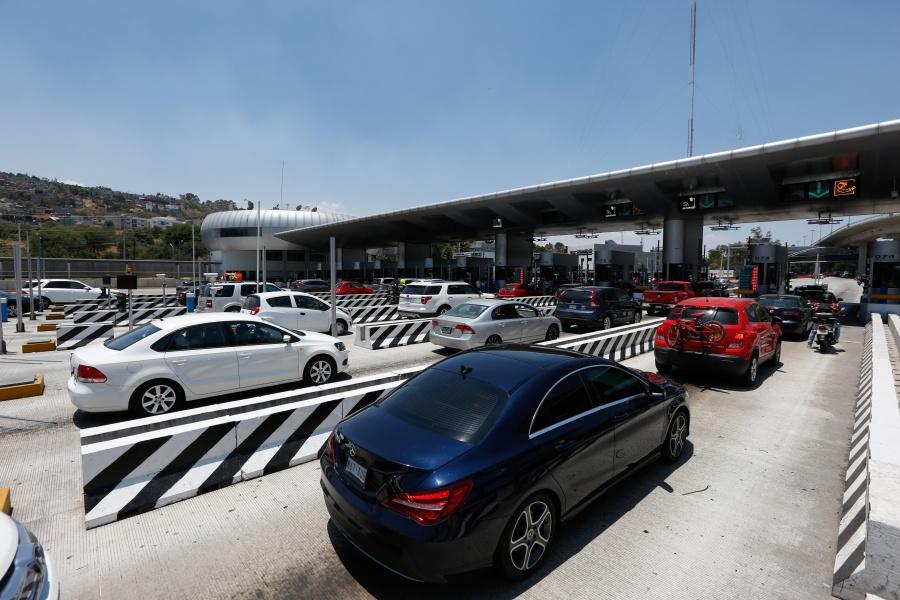 Aumenta aforo vehicular en casetas por regreso de vacacionistas