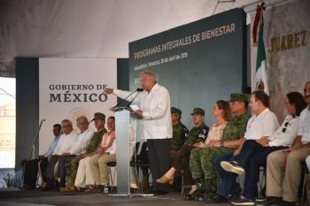 Gobierno da respuesta a demanda de seguridad en Minatitlán, afirma AMLO