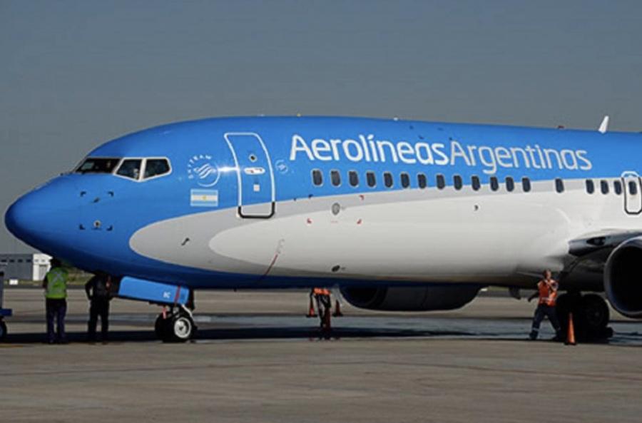 Aerolíneas argentinas con paro mañana, apoyan huelga