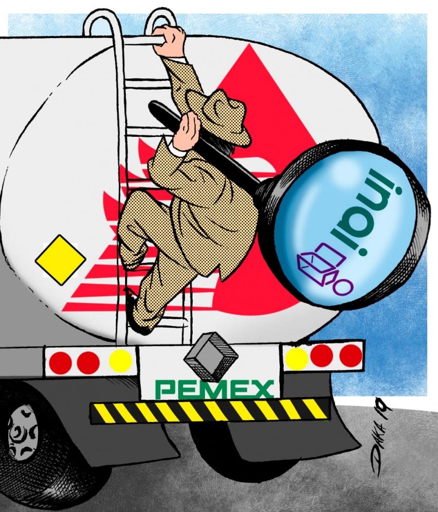Urgen a Pemex transparentar contratos de las 550 pipas