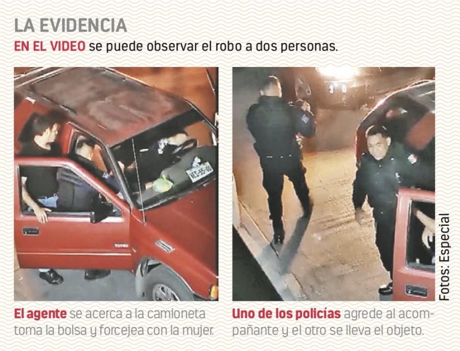 Suspenden e investigan a tres policías por robo