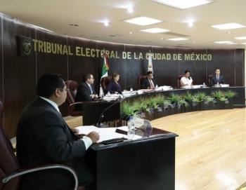 TECDMX recibe a representantes de pueblos originarios de Xochimilco