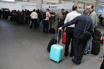 Afecta falla en sistema, operación de Aeroméxico