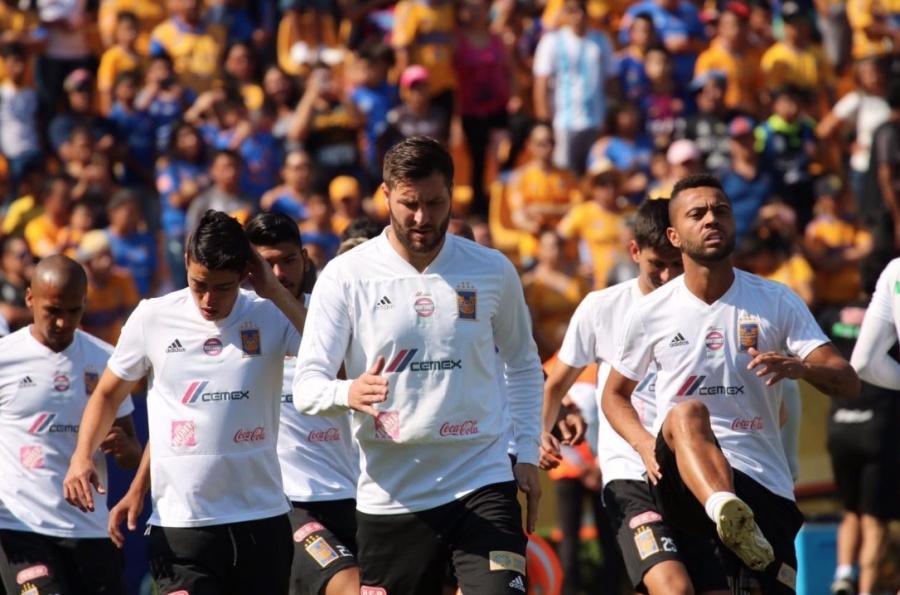 Gignac, listo para la final entre Rayados y Tigres de Concacaf