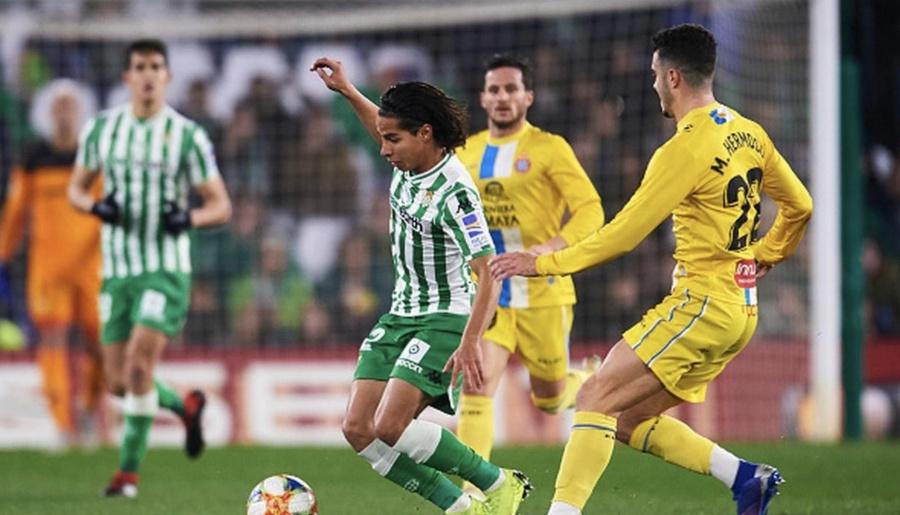 Betis de Guardado y Lainez empata ante Espanyol