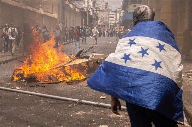 Naciones Unidas solicita a Honduras respete a sus manifestantes