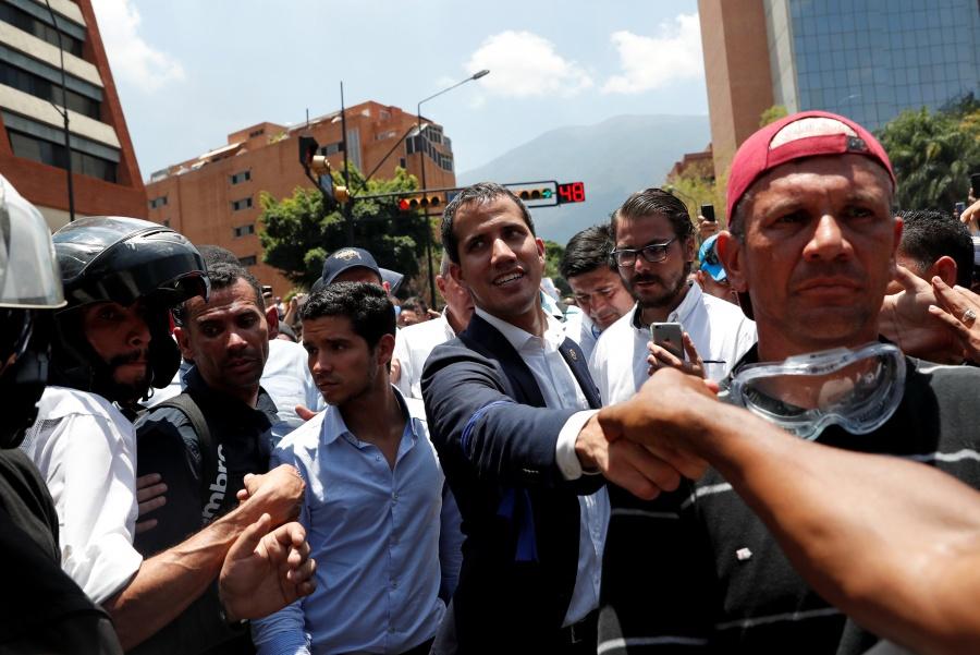 Respalda comunidad internacional al movimiento: Guaidó