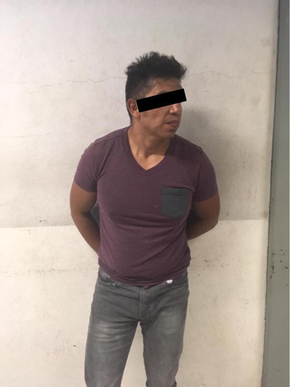 SSC detiene a sujeto por romper cristal de tienda de autoservicio en Iztapalapa