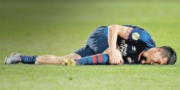 Rodilla de Chucky no resiste tras lesión y es duda para la Copa Oro