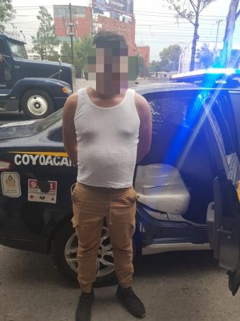 SSC recupera tráiler robado y detiene a tres implicados en Tlalpan