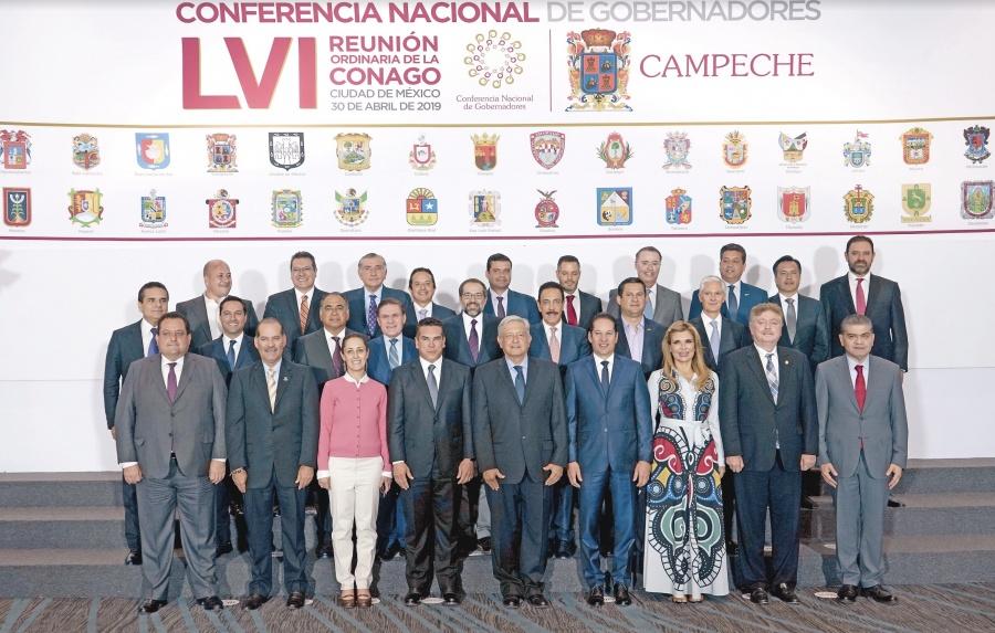 Con Domínguez al frente, Conago firma pacto laboral