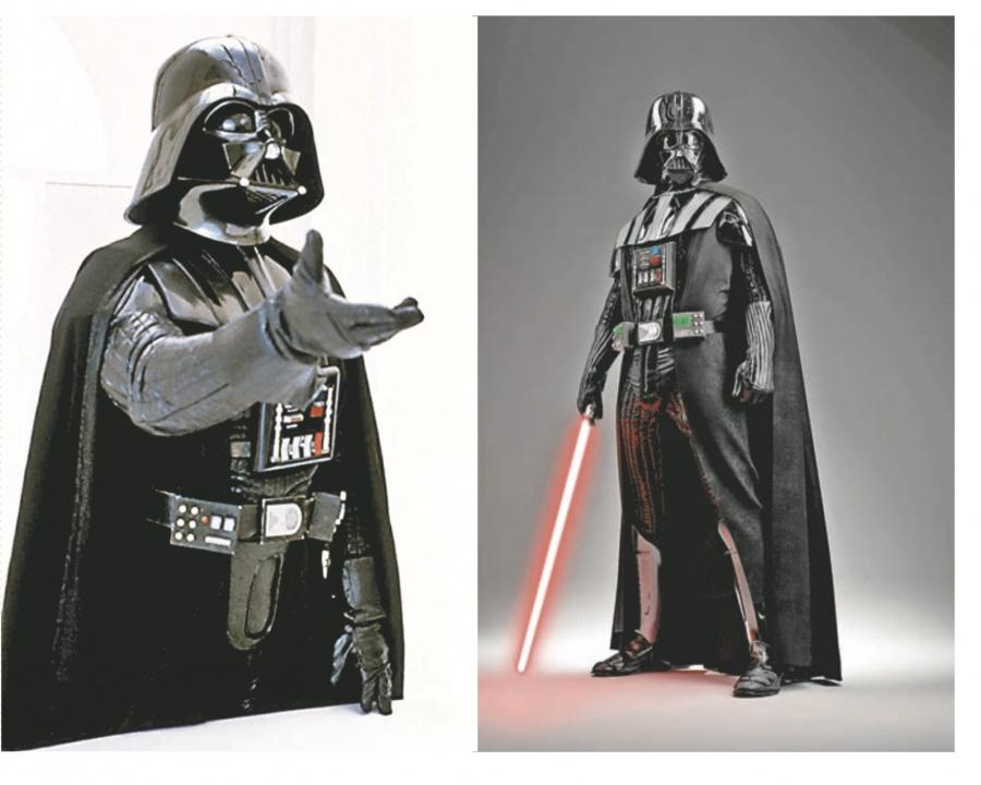 Piden 2 mdd por traje original que Darth Vader ocupó en 1979