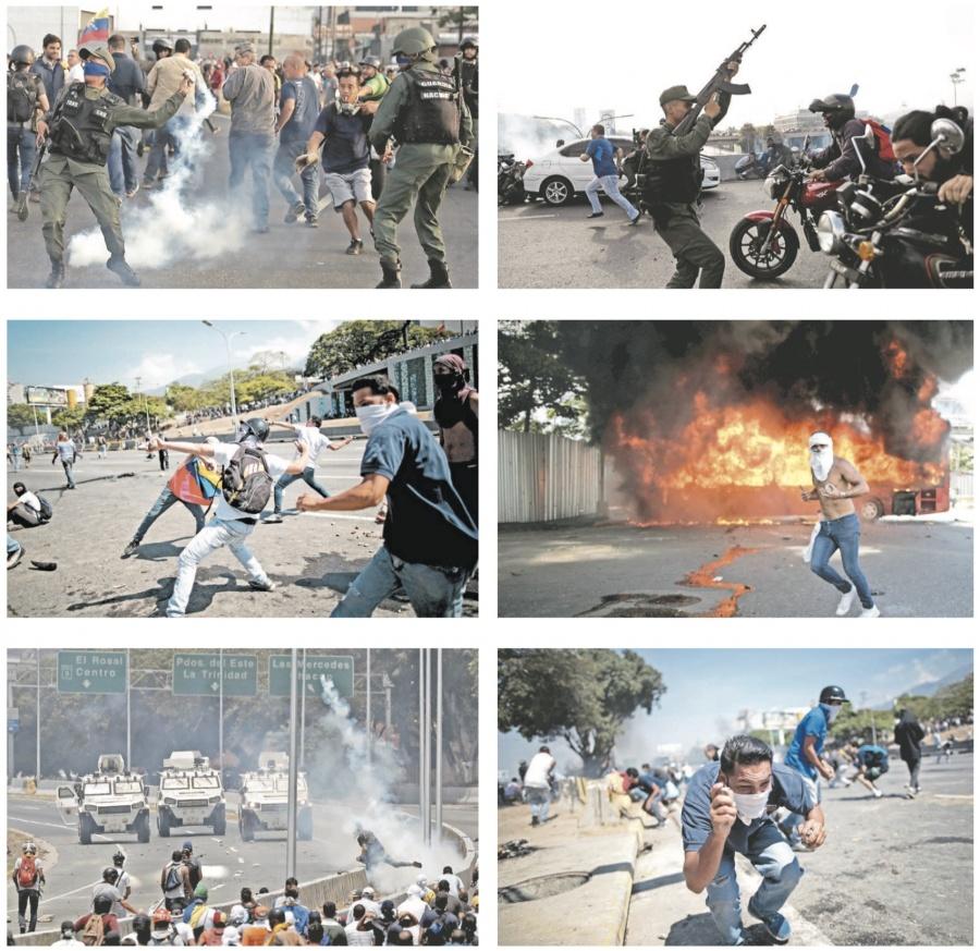 Se enciende la insurgencia urbana y crece la represión