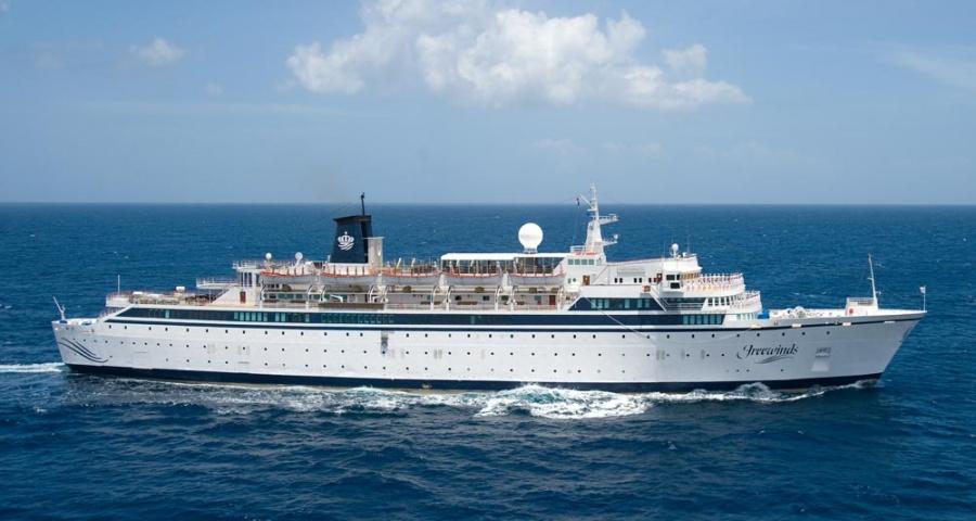 Sarampión pone a crucero en cuarentena