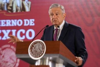 AMLO ofrece disculpas a familia de Del Mazo por aeropuerto de Texcoco
