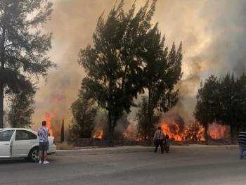 Incendio afecta a los estados de Guanajuato y SLP