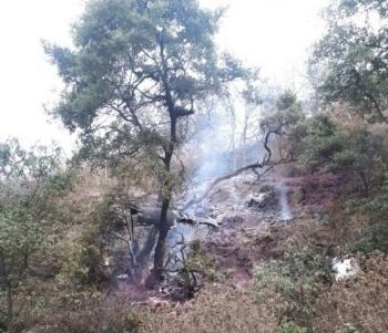 Desplome de avioneta deja un muerto en Atizapán