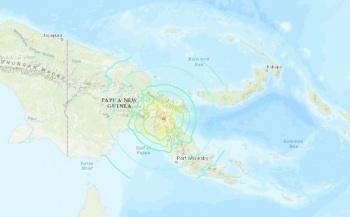 Sismo de 7.2 grados sacude Papúa Nueva Guinea