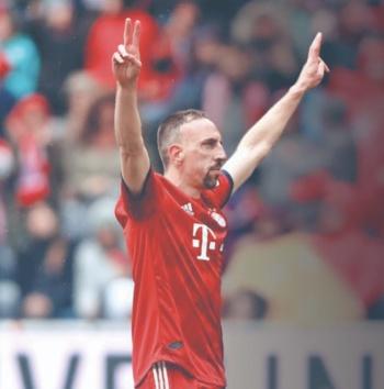 Tras 12 años, Ribery se despide de Bayern Múnich