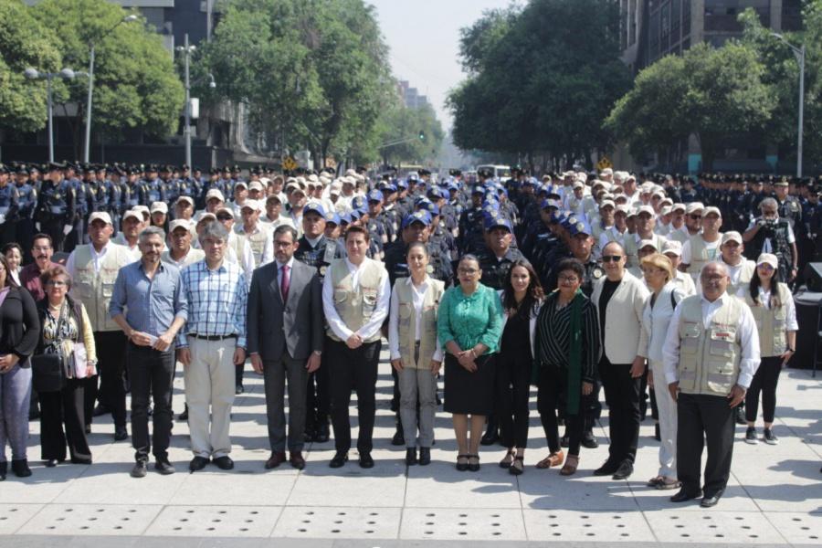 Presenta Gobierno de CDMX estrategia para reforzar la seguridad en el Centro Histórico