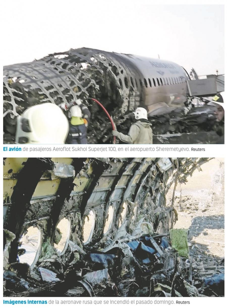 """""""Fue como un golpe de puño"""": sobreviviente de vuelo ruso"""