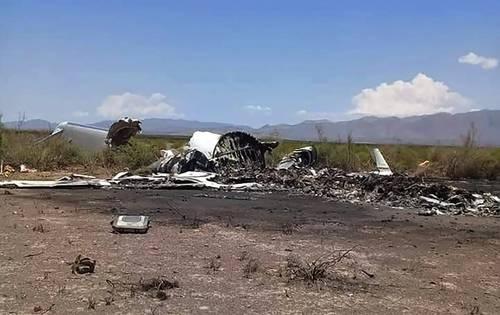 Recuperan las cajas negras del avión accidentado en Coahuila