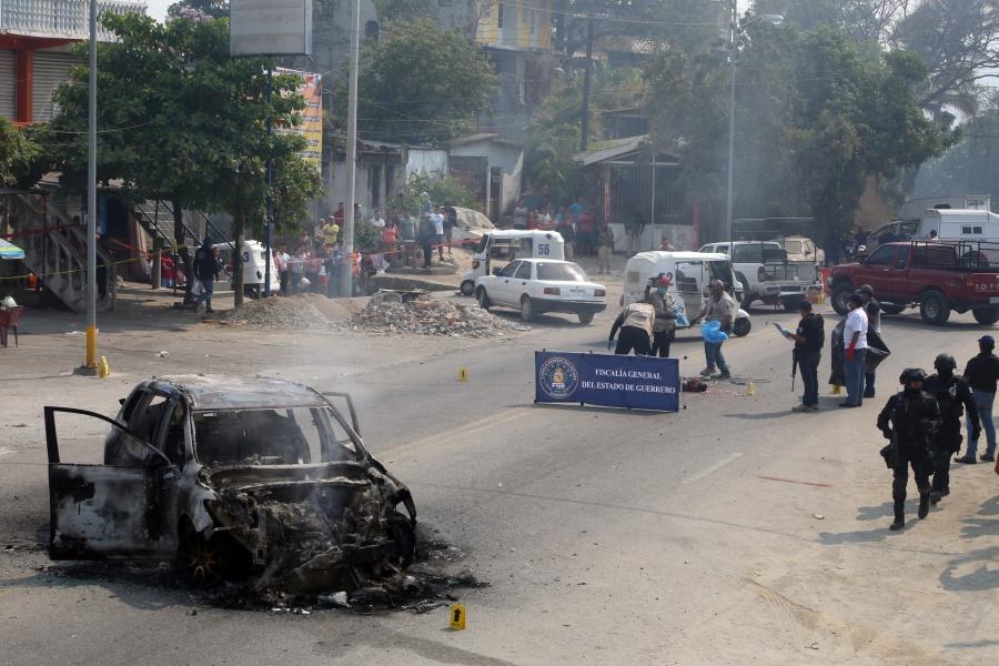 Balacera en Xaltianguis deja dos muertos y cuatro heridos