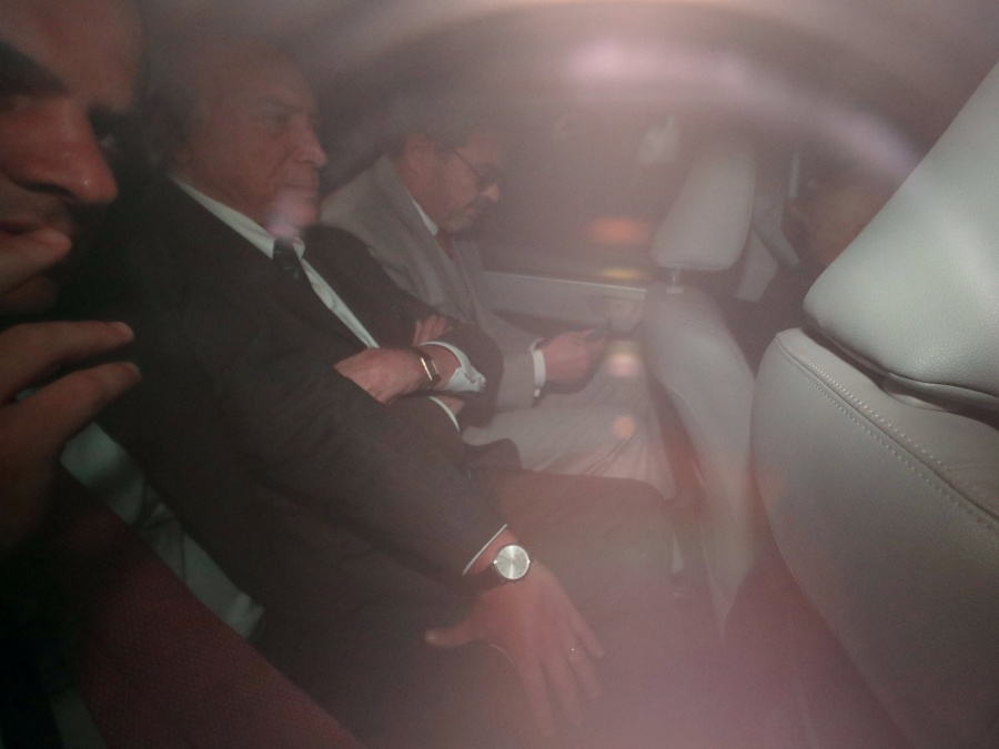 Michel Temer se entrega por segunda vez a la policía