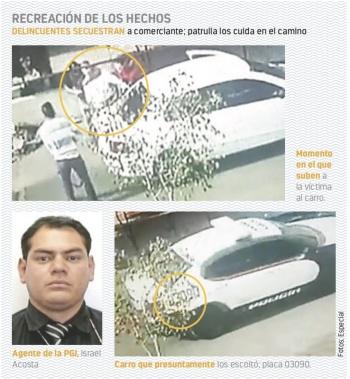 """""""Entré en pánico"""", dice agente que escoltó a secuestradores"""