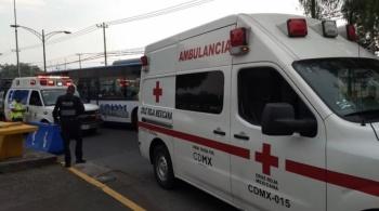 Riña en CU deja a un vendedor ambulante con herida de bala