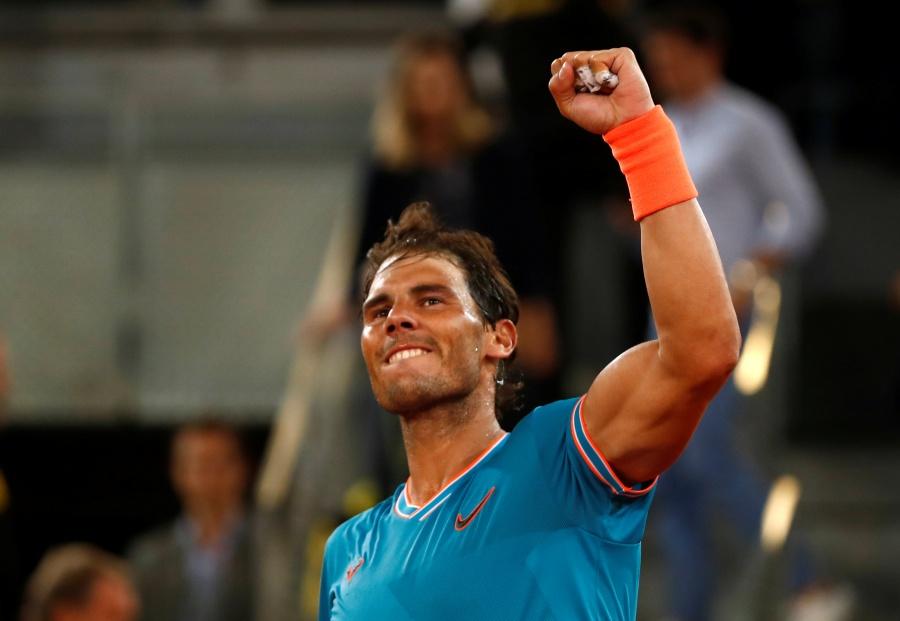 Nadal a semifinales del Abierto de Madrid