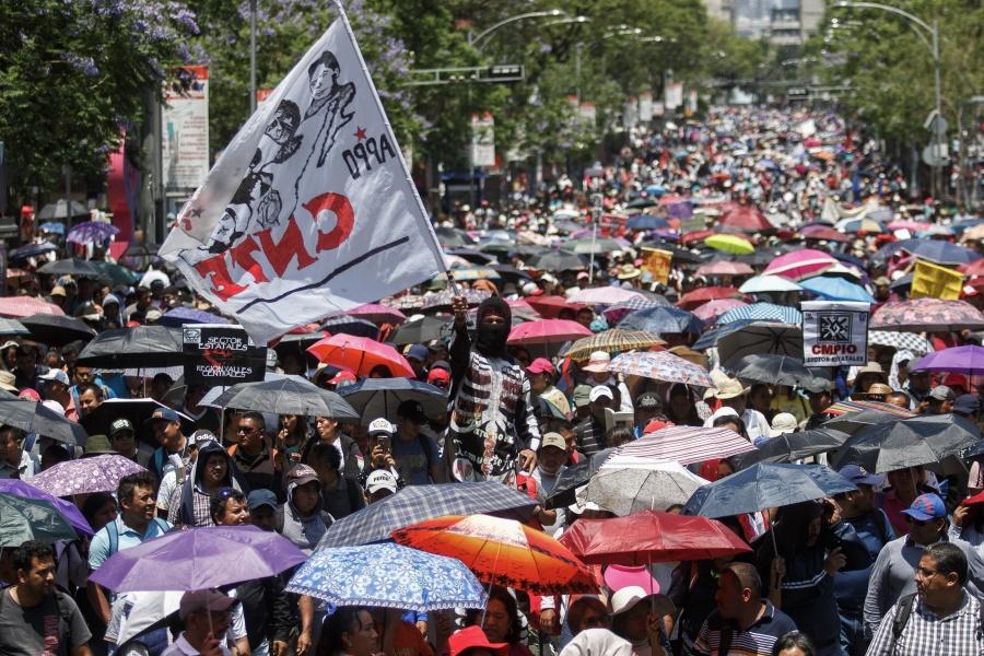 Rechaza CNTE reforma educativa de AMLO