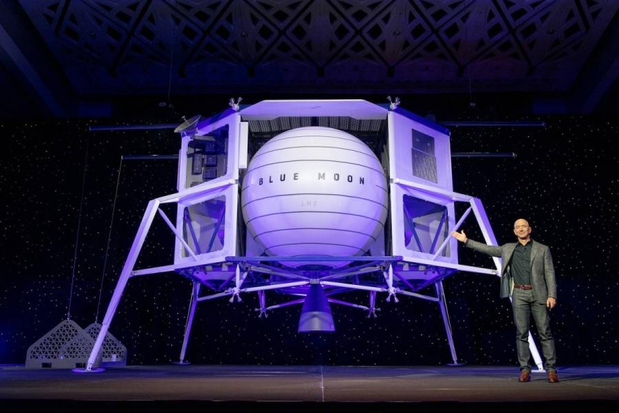 Jeff Bezos se va a la luna