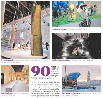 México cuestiona en la Bienal de Venecia mito de la creación