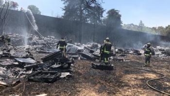 Tras incendio en predio, Cuajimalpa investigará si hubo daño ambiental