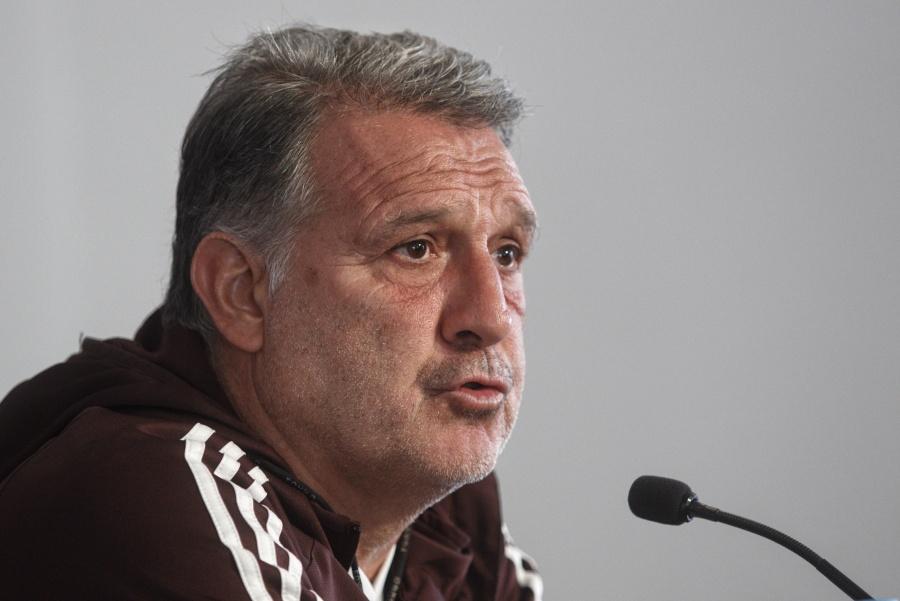 """Tata"" Martino: Tanto extranjero perjudica a la selección"
