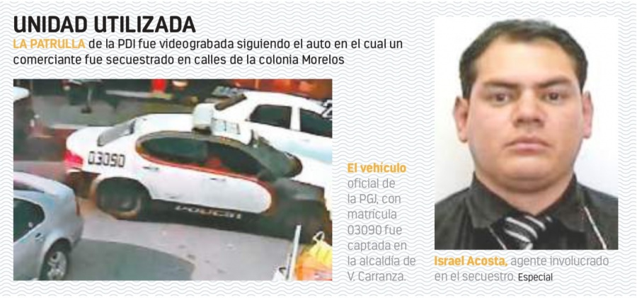 PDI acusado de rapto abandona su trabajo