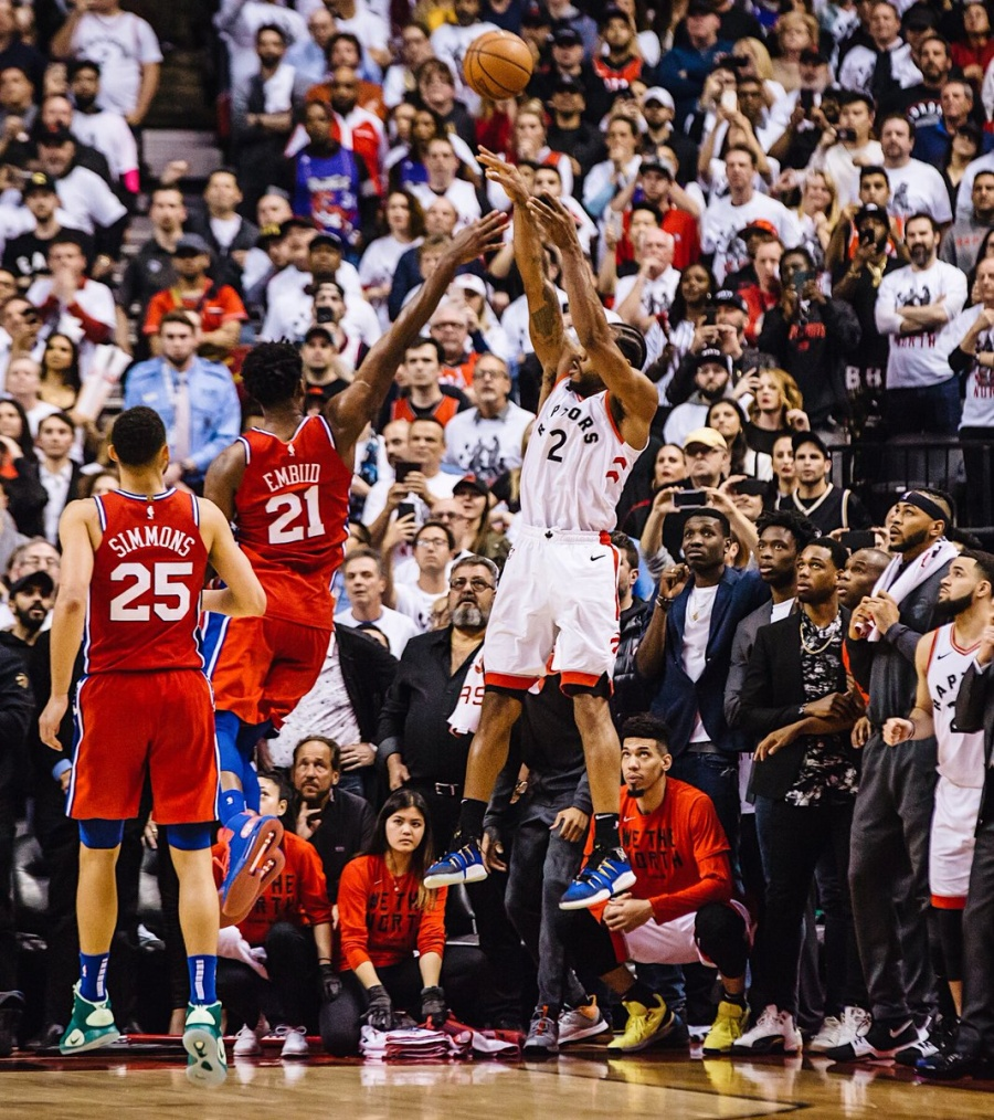 Vídeo: Kawhi Leonard le da el triunfo a los Raptors en el último segundo