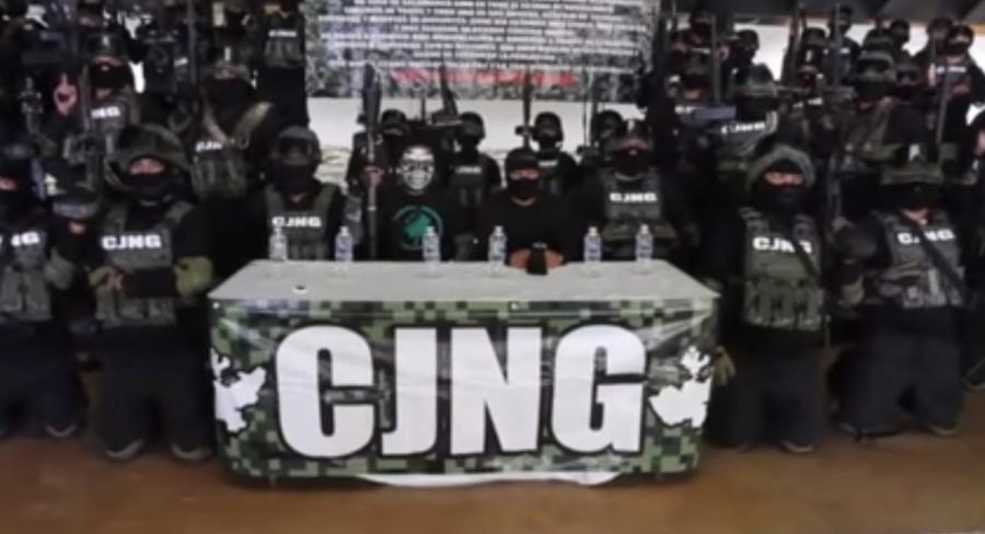 ...Y el Cártel Jalisco Nueva Generación se adjudica el homicidio