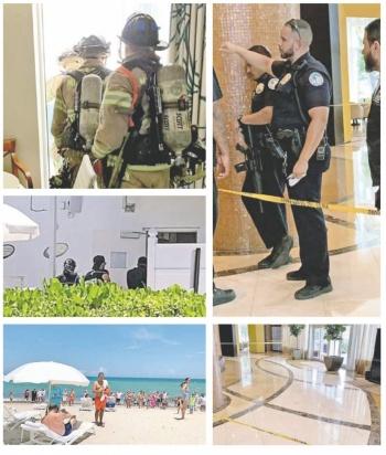Por balacera desalojan Torre Trump de Miami; matan a uno