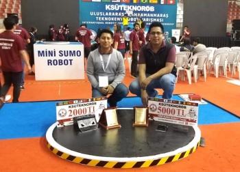 Jóvenes mexicanos triunfan en torneo de robótica en Turquía